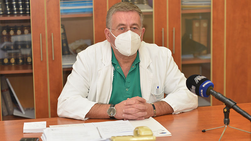 Dr Joksimović: Opštoj bolnici u Boru nije odobren prijem novih radnika
