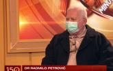 Dr Radmilo Petrović: Poboljšanje epidemiološke situacije najranije u februaru VIDEO