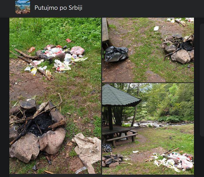 Dragi Beograđani, Novosađani i ostali koji ove godine upoznajate Srbiju, poneseti svoje smeće sa sobom!
