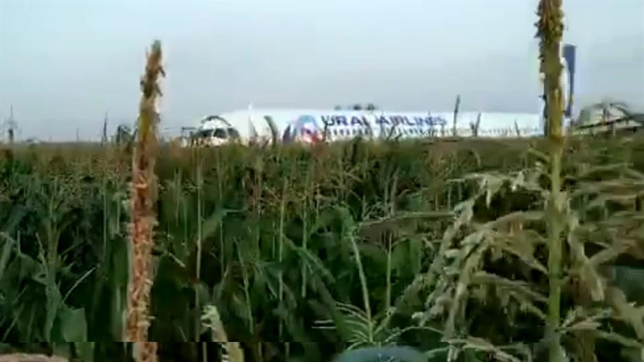 Drama: Avion sleteo u POLJE, 23 osobe povređene (VIDEO)