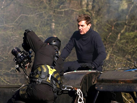 Drama na snimanju Nemoguće misije 7: Tom Kruz spasao snimatelja od pada sa voza