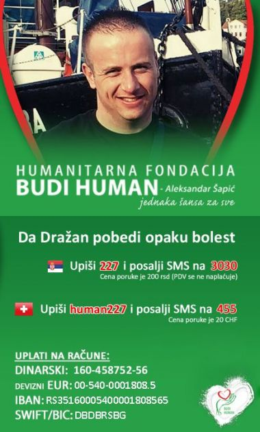 Dražen Vučić se već 5 godina bori sa metastazama, da bi pobedio potrebna mu je i naša pomoć