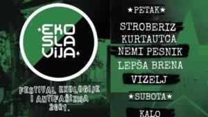 Drugi Festival ekologije i antifašizma Ekoslavija – 6. i 7. avgusta, u Subotici