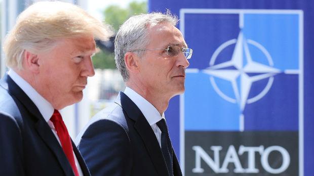 Drugi dan NATO samita, Tramp proglasio pobedu
