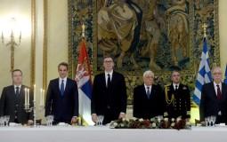 Drugi dan posete Grčkoj, Vučić sa Micotakisom