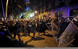 Drugi dan protesta katalonskih separatista