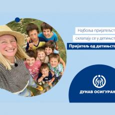 Dunav osiguranje s Tamarom u akciji - prijatelji na delu