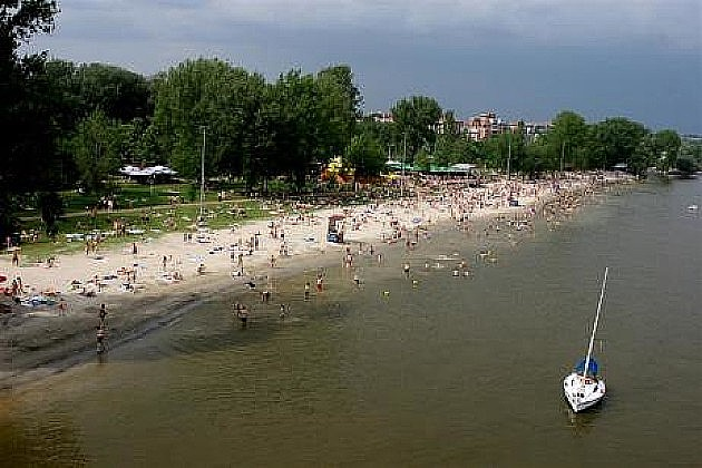 Dunav prljaviji zbog porasta vodostaja, posetioci Štranda da imaju razumevanja
