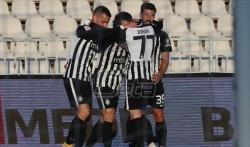 Dva gola Asana za pobedu Partizana protiv Vojvodine