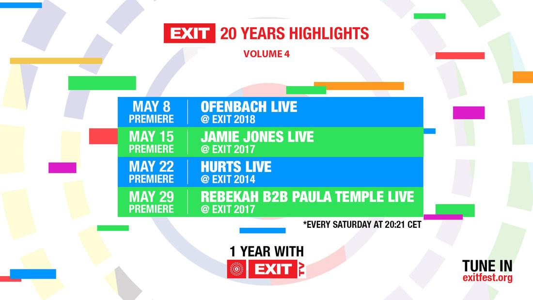Dva meseca pred EXIT stižu premijere nastupa koji su obeležili festival: Ofenbach, Hurts, Jamie Jones