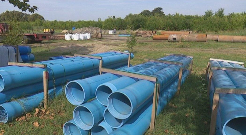 Dva nova bunara na prostoru Šumice u Kikindi