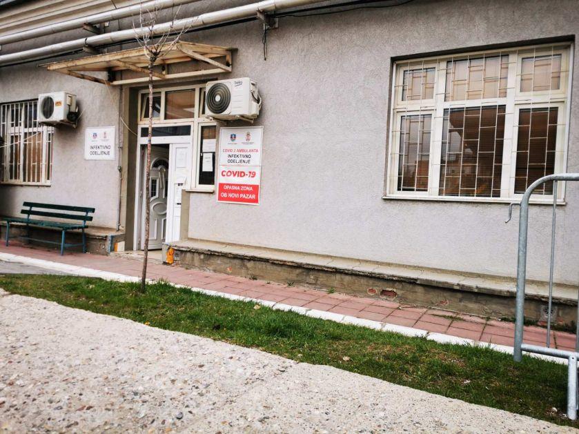 Dva pacijenta na bolničkom liječenju, jedan iz Beograda