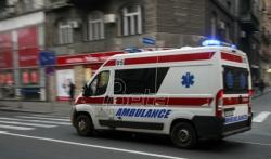 Dve osobe teško povredjene u nesreći na Zrenjaniskom putu