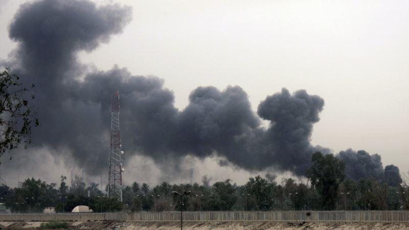Dve rakete ispaljene na zelenu zonu u Bagdadu