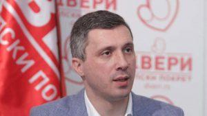 Dveri: Balša Božović ne štedi reči kada treba da kritikuje kolege iz opozicije