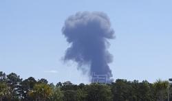 Dvoje mrtvih u padu teretnog aviona američke Nacionalne garde