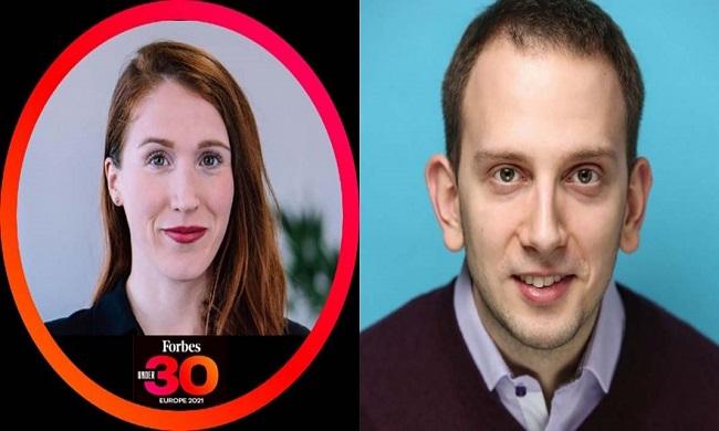 """Dvoje naših ljudi na Forbes listi """"30under30"""" za 2021"""