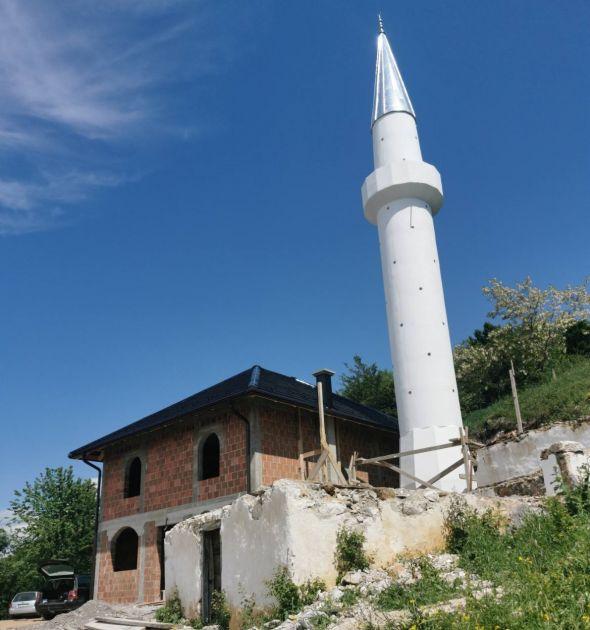 Džamija u selu Hrta do Kurban-bajrama