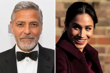 Džordž Kluni STAO U ZAŠTITU Megan Markl: Proganjaju je kao princezu Dajanu!