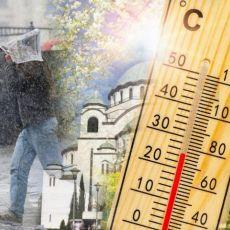 ECI PECI PEC, DANAS SUNCE SUTRA KIŠA - VREMENSKO LUDILO! Od ponedeljka novo pogoršanje i kiša, pa opet vrelina