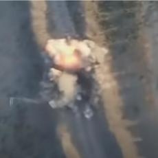 EKSKLUZIVNI SNIMCI IZ SIRIJE: Pogledajte kako ruski dronovi rasturaju džihadiste (VIDEO)