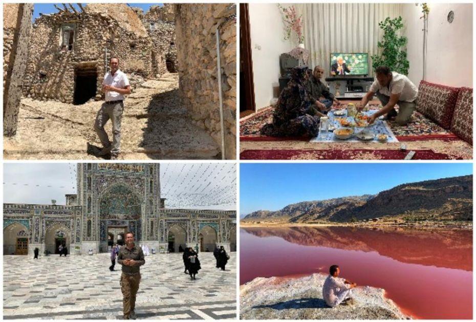 EKSKLUZIVNO ZA KURIR! SVETSKI PUTNIK EDIN UŽIVAO JE U ČARIMA IRANA: Posetio sam selo staro preko 3.000 godina, ružičasto jezero i minaret koji se ljulja! Tradicija i kultura su me očarale! (FOTO)