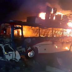 EKSPLODIRAO AUTOBUS SA FUDBALERIMA: Ima poginulih među igračima, neko im postavio BOMBU! Horor u Somaliji