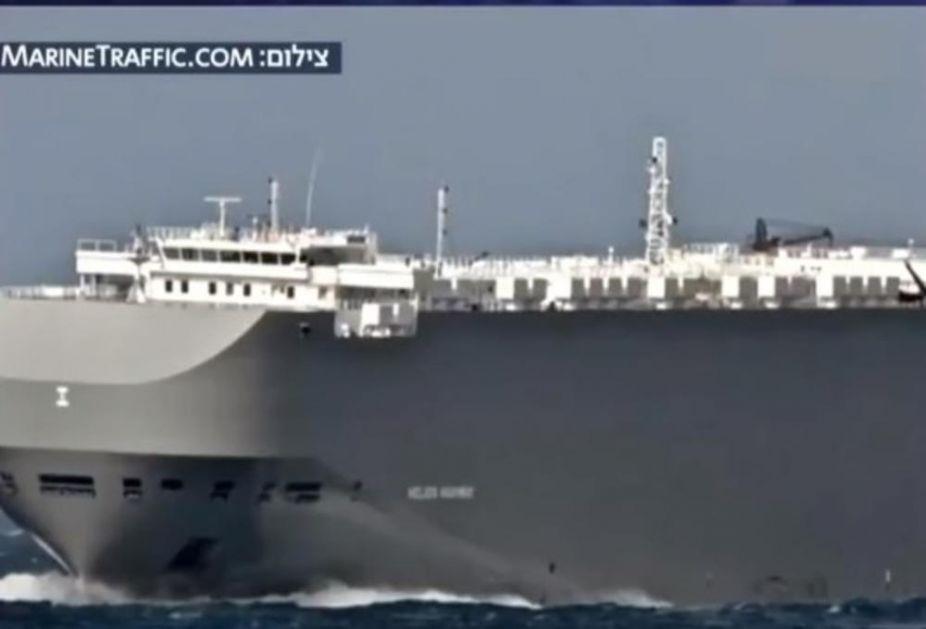 EKSPLOZIJA NA IZRAELSKOM TERETNJAKU: Nove napetoti na Bliskom istoku posle američkog naada u Siriji (VIDEO)