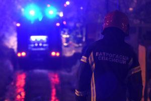 EKSPLOZIJA U NOVOM SADU Veliki požar u dvorištu GSP, izgoreli autobusi (VIDEO)