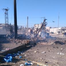 EKSPLOZIJA U SIRIJI: Kamion sa radnicima naleteo na minu, poginule 24 osobe!