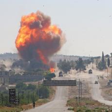 EKSPLOZIJE ODJEKUJU IRAKOM: Snažno raketirana američka vojna baza (FOTO)