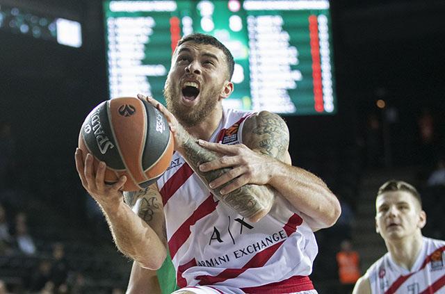 EL: Olimpija postigla četiri poena za četvrtinu, ali ipak upisala veliki trijumf protiv Olimpijakosa!