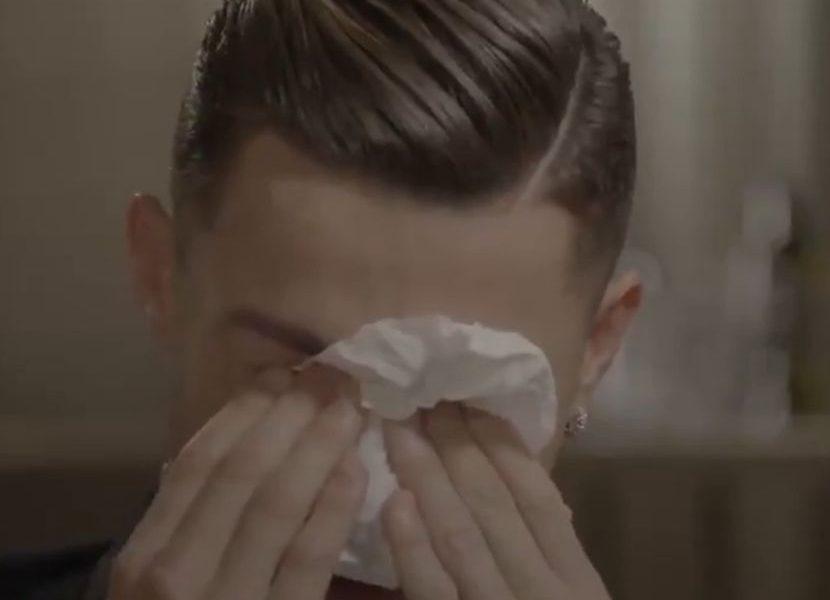EMOTIVNI VIDEO Kristijano Ronaldo plače kao kiša zbog oca alkoholičara