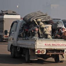 ERDOGAN POTVRDIO: Oko 400.000 izbeglica iz Idliba ide ka turskoj granici (VIDEO)
