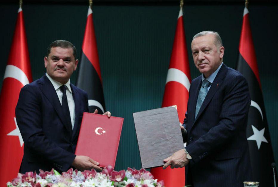 ERDOGAN SA PREMIJEROM LIBIJE POTVRDIO POSVEĆENOST POMORSKOM SPORAZUMU: Turska pordžava jedinstvo Libije, njenu obnovu i vojsku!