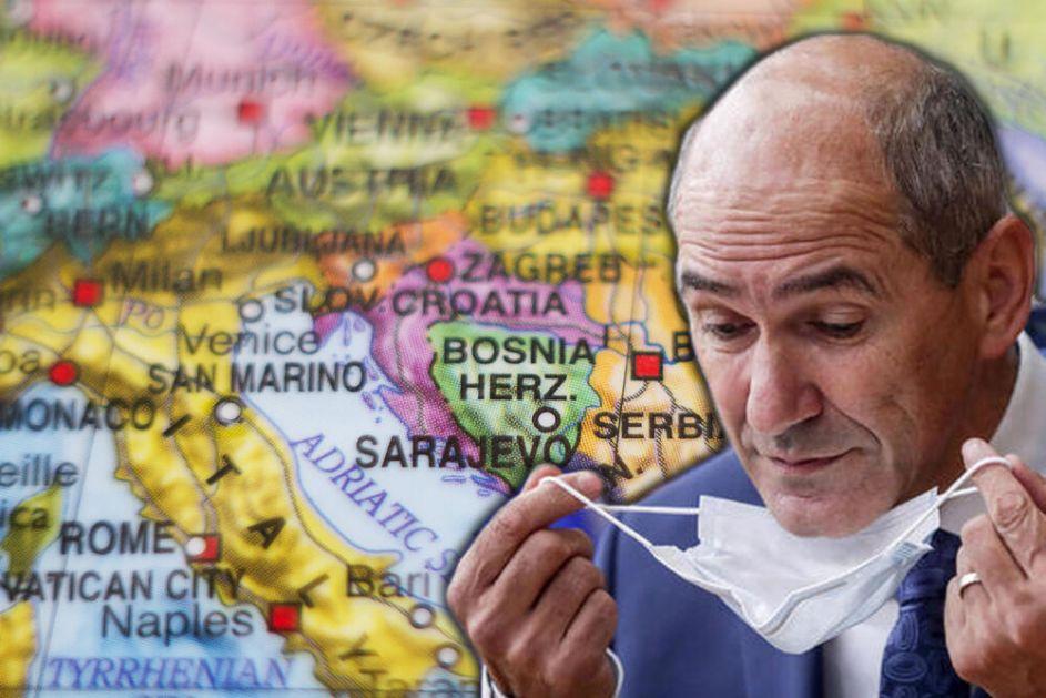 EU NE MOŽEMO POTVRDITI DA IMAMO JANŠIN DOKUMENT O PROMENI GRANICA NA BALKANU! Zašto je Sarajevo pobesnelo na papir iz LJUBLJANE?