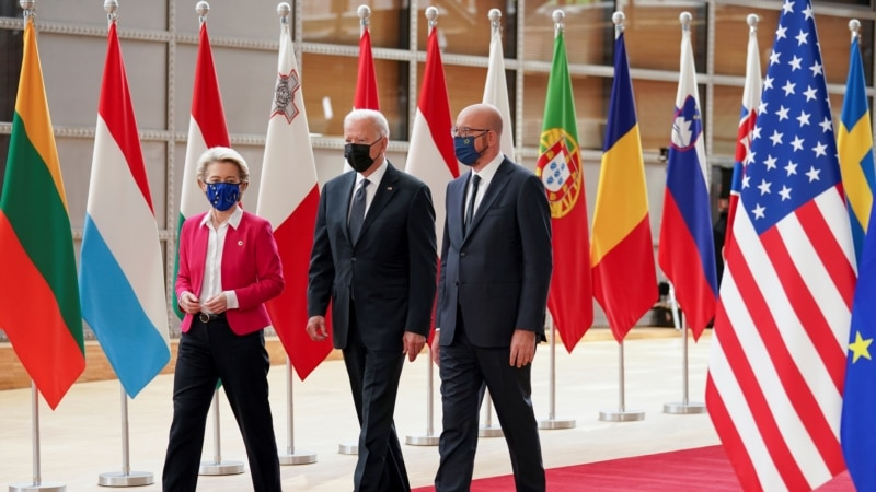 EU podržala Bajdena uoči susreta sa Putinom