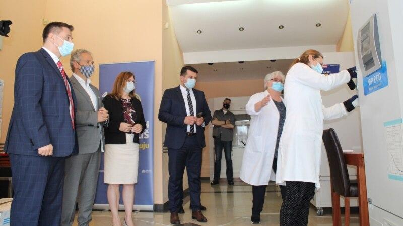 EU uručila vakcine i kisik-aparate mostarskoj bolnici