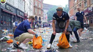 EURO 2020 i fudbal: Škotski navijači očistili centar Londona posle remija sa Engleskom i žurke