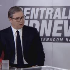 EVO ŠESTI PUT VAM KAŽEM! NISAM PUCAO NA SARAJEVO Vučić žustro odgovorio novinaru iz Bosne i Hercegovine