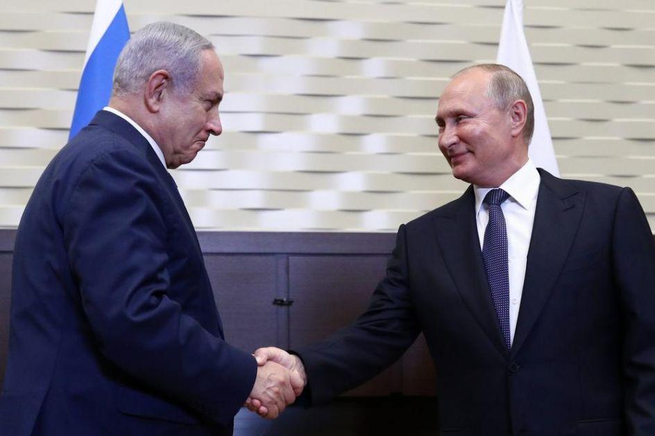 EVO ŠTA JE NETANIJAHU TRAŽIO OD PUTINA: Izraelu da se dozvoli da deluje protiv Irana