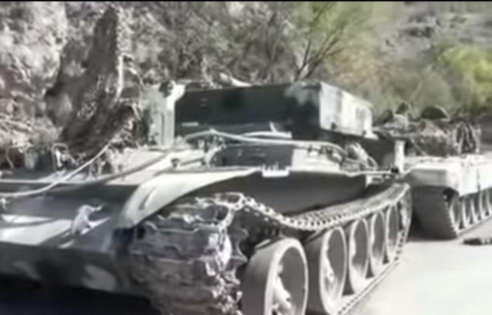 EVO ZAŠTO JERMENIMA NA KAVKAZU NE IDE: Azeri objavili šok snimak napuštene opreme protivnika (VIDEO)