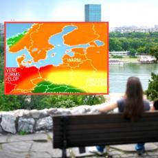 EVROPA ĆE OVOG LETA GORETI! Stigla dugoročna prognoza, Srbiju čeka TOTALNO LUDILO pre LETNJIH VRELINA