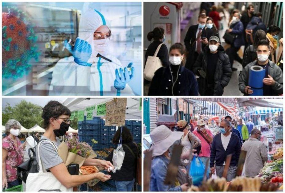 EVROPA U PAKLU KORONA VIRUSA: Belgija na ivici zdravstvenog kolapsa, u Nemačkoj rekordan broj zaraženih od početka pandemije VIDEO