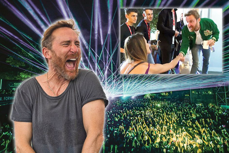 EXCLUSIVE INTERVIEW, DAVID GUETTA FOR KURIR: 'I'm considering buying a PLACE in Serbia, I have FRIENDS here'