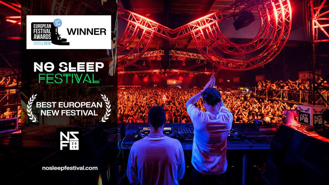 "EXIT timu novi festivalski Oskar"": No Sleep je najbolji novi festival Evrope!"