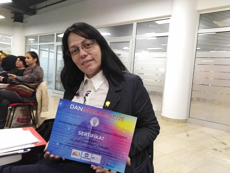 Edukativni rad prokupačke učiteljice nagrađen u Beogradu