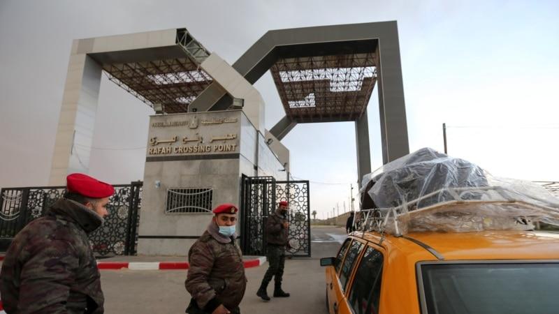 Egipat otvorio granicu s Gazom zbog evakuacije ranjenika