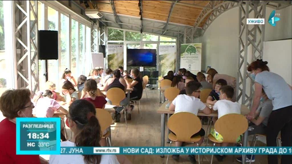 Eko kampovi Priroda za budućnost bez granica, start u Sremskim Karlovcima