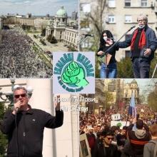 Ekoloski ustanak - Beograd, 10. april 2021. (kompletan snimak)